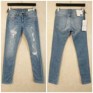 rag & bone Jeans - Rag & Bone Dre Slim Boyfriend Jeans in Rosslyn